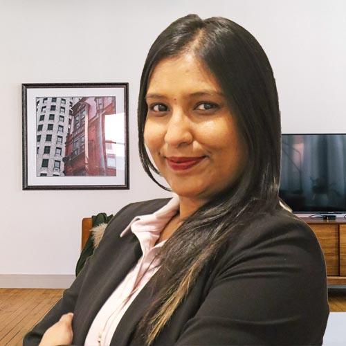 Kavitha Bhawanideen - Financial Director of HERS