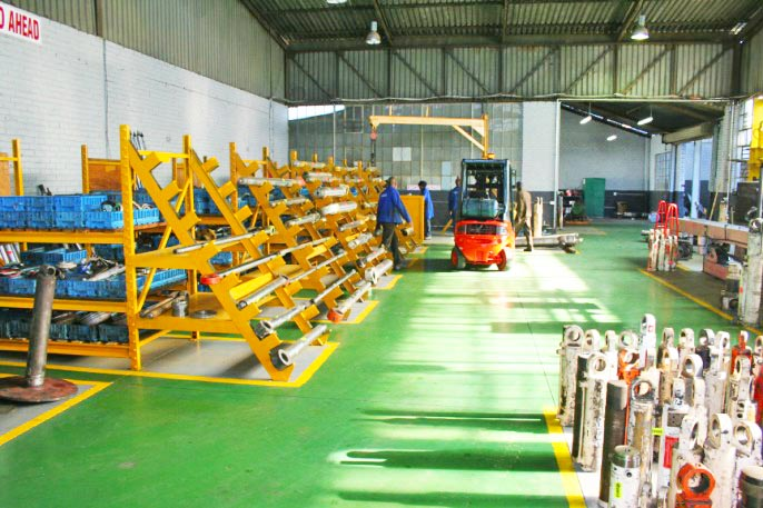 HERS Hydraulic Cylinder Warehouse