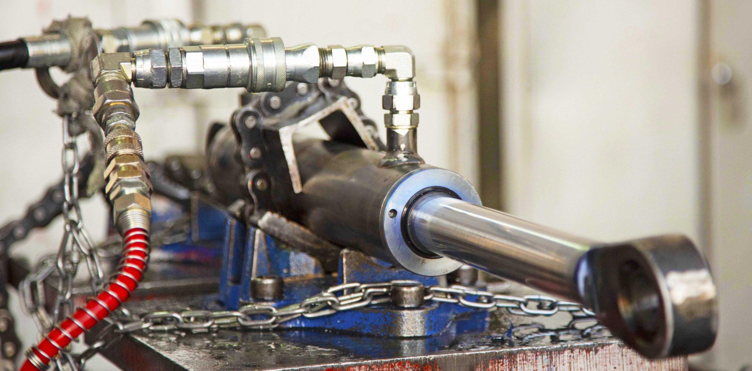 HERS Hydraulic Cylinder Testing