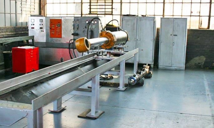 HERS hydraulic cyliner workshop